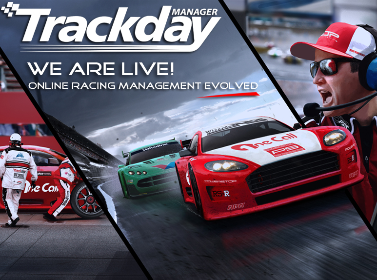 trackday_manager_we are live